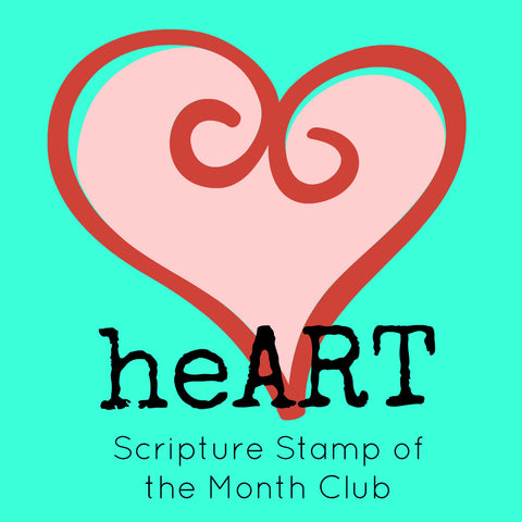 heART Scripture Stamp of the Month