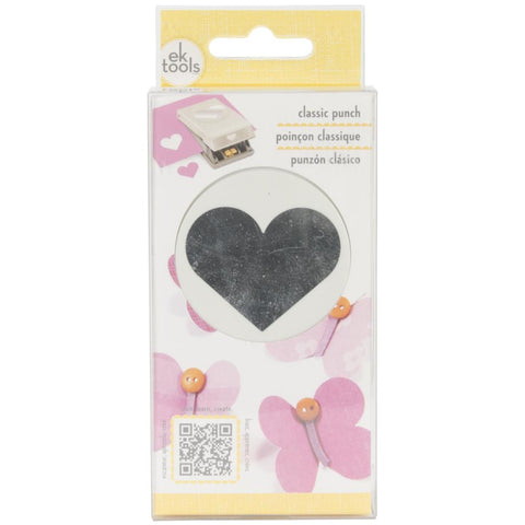 Heart Classic Punch by EK Tools Retail $13.99