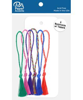 Tassel with Cardstock Bookmark retail $3.99