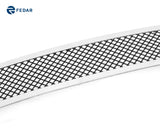 Fedar Wire Mesh Grille Insert For 04-05 Ford F-150 - Black / Polished