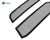 Fedar Wire Mesh Grille Insert For 02-06 Chevy Silverado 1500/1500 SS/1500 HD/2500/3500/2500 HD - Full Black