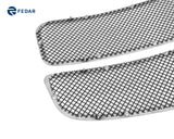 Fedar Wire Mesh Grille Combo Insert For 02-05 Dodge Ram - Black / Polished
