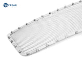 Fedar Rivet Mesh Grille Insert For 04-08 Ford F-150 Honeycomb Style - Full Polished