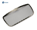Fedar Rivet Mesh Grille Insert For 05-10 Chrysler 300/300C - Full Black