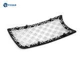 Fedar Dual Weave Mesh Grille Combo Insert For 05-10 Chrysler 300C - Polished / Black