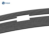 Fedar Billet Grille Combo For 2005-2007 Chevy Silverado 1500 2500 3500 HD - Polished
