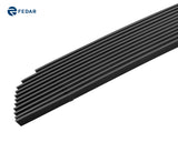 Fedar Billet Grille Combo For 2006-2009 Chevy Trailblazer SS - Black