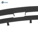 Fedar Billet Grille Combo For 2002-2005 Chevy Trailblazer LT/LS/SS - Black