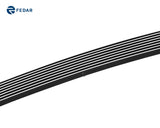Fedar Lower Bumper Billet Grille For 2002-2005 Chevy Trailblazer LT/LS/SS - Polished