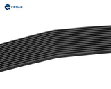 Fedar Main Upper Billet Grille For 2005-2009 Ford Mustang V6 - Black