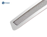 Fedar Wire Mesh Grille Insert For 2005-2011 Toyota Tacoma - Black / Polished