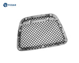 Fedar Wire Mesh Grille Combo Insert For 07-14 Chevy Avalanche/Suburban/Tahoe - Black / Polished