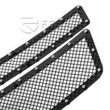 Fedar Rivet Mesh Grille Insert For 07-14 Chevy Avalanche/Suburban/Tahoe - Full Black