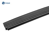 Fedar Lower Bumper Billet Grille For 2006-2009 Chevy Trailblazer LT - Polished
