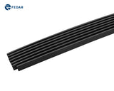 Fedar Lower Bumper Billet Grille For 2006-2009 Chevy Trailblazer LT - Black
