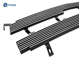 Fedar Main Upper Billet Grille For 2003-2005 Chevy Silverado/2002-2006 Avalanche - Polished