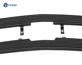 Fedar Billet Grille Combo For 2003-2005 Chevy Silverado 1500/2500/3500/1500HD/1500SS/2500HD/3500HD - Black