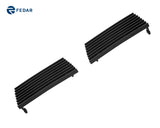 Fedar Tow Hook Cover Billet Grille For 2003-2006 Chevy Silverado 1500 SS - Black