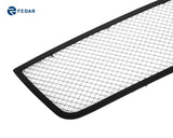 Fedar Wire Mesh Grille Combo Insert For 06-13 Chevy Impala - Polished / Black