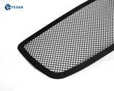 Fedar Wire Mesh Grille Combo Insert For 05-10 Dodge Charger - Full Black