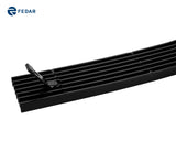 Fedar Billet Grille Combo For 1997-1998 Ford Expedition - Polished