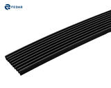 Fedar Lower Bumper Billet Grille For 2006-2012 Ford Ranger - Black