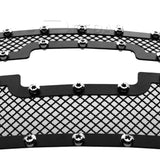 Fedar Rivet Mesh Grille Insert For 07-13 Chevy Silverado 1500 - Full Black