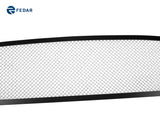 Fedar Wire Mesh Grille Insert For 13-15 Ford Fusion - Polished / Black