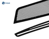 Fedar Wire Mesh Grille Insert For 11-14 Chevy Cruze - Full Black