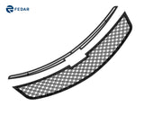 Fedar Dual Weave Mesh Grille Insert For 11-14 Chevy Cruze - Full Black