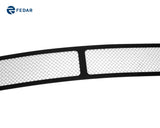 Fedar Wire Mesh Grille Insert For 07-09 Nissan Altima Sedan - Polished / Black