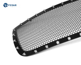 Fedar Rivet Formed Mesh Grille Insert For 07-09 Toyota Tundra - Full Black