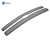 Fedar Dual Weave Mesh Grille Insert For 07-10 Chevy Silverado 3500 HD/2500 HD - Full Black