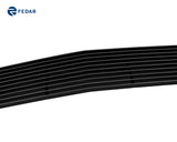 Fedar Lower Bumper Billet Grille For 2007-2010 Chevy Silverado 2500HD/3500HD - Black