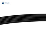 Fedar Lower Bumper Billet Grille For 2007-2009 Nissan Sentra - Black