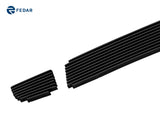 Fedar Lower Bumper Billet Grille For 2005-2009 Hyundai Tucson - Black Powder Coated