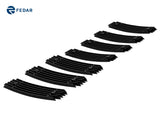 Fedar Billet Grille Combo For 2006-2010 Jeep Compass - Black
