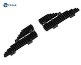 Fedar Side Vent Billet Grille For 2008-2010 Ford F-250/F-350/F-450/F-550 Side Vent - Black