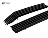 Fedar Billet Grille Combo For 2011-2016 Ford F-250/F-350/F-450/F-550 XLT - Black