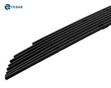 Fedar Lower Bumper Billet Grille For 2010-2012 Ford Mustang V6 - Black