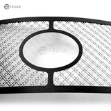Fedar Dual Weave Mesh Grille Insert For 10-13 Toyota Tundra - Polished / Black