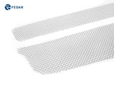 Fedar Wire Mesh Grille Combo Insert For 08-12 Chevy Malibu - Polished / Black