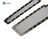 Fedar Rivet Mesh Grille Insert For 15-16 Chevy Tahoe/Suburban - Full Black