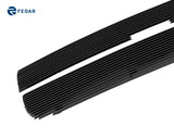 Fedar Main Upper Billet Grille For 2003-2014 Chevy Express Van - Black