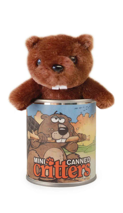 Mini Canned Beaver