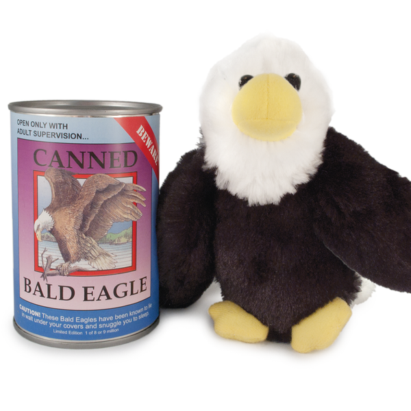Canned Bald Eagle