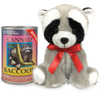 "6"" Canned Raccoon"