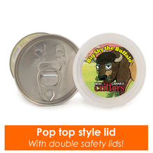 Mini Canned Buffalo lid