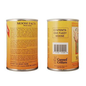 Canned Moose label