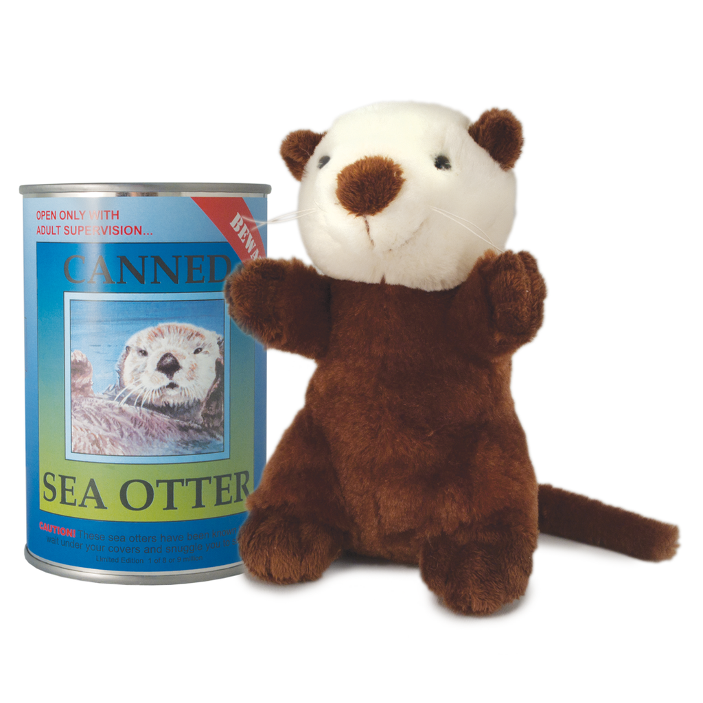 "6"" Canned Sea Otter"